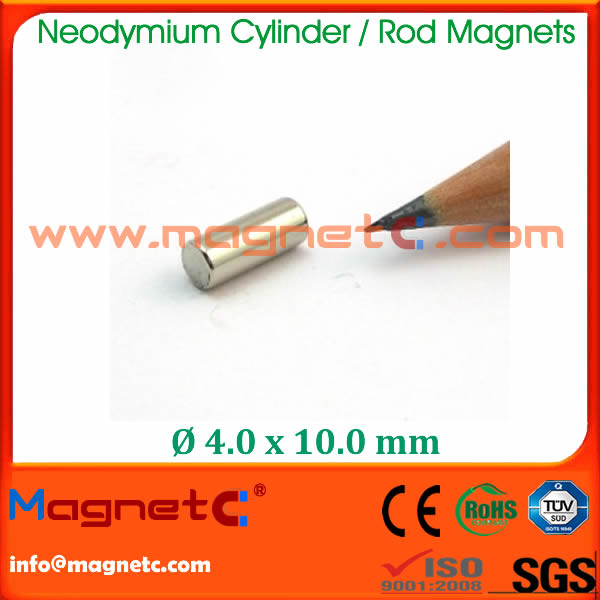 Rod Magnet Coated With NICUNI