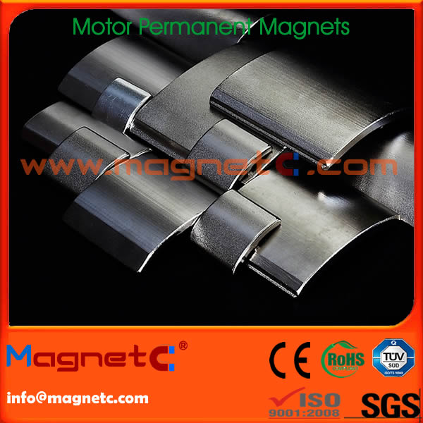 Sintered Permanent DC Motor Magnets