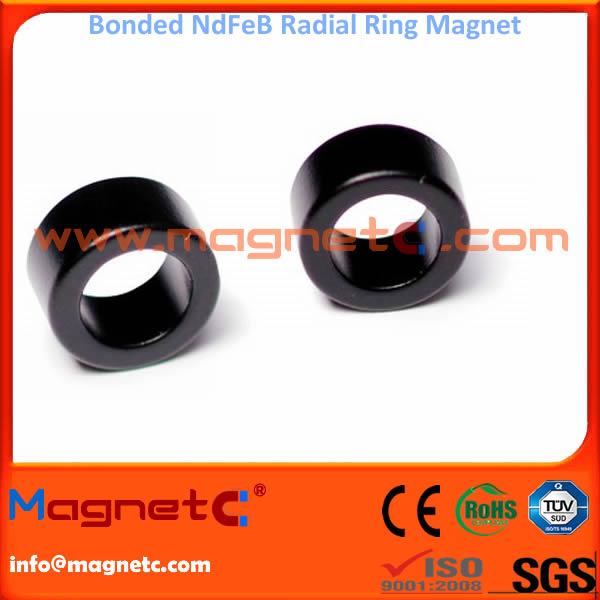 Radial Ring Bonded NdFeB Permanent Magnet
