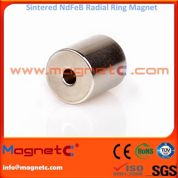 Super Strong Radial Ring Magnet