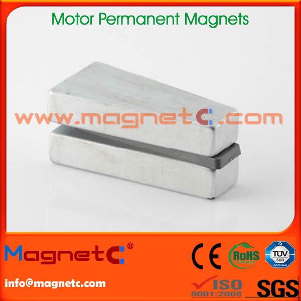 Wedge Shaped Wind Turbine Generator Magnets