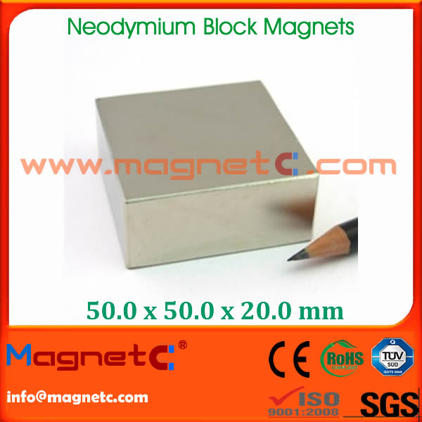 Sintered N52 Neodymium Magnet Block