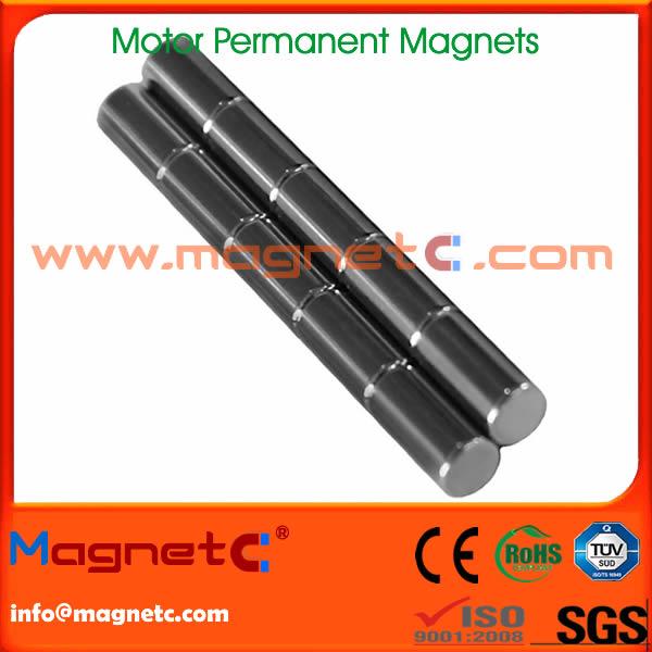 Permanent Cylinder Magnet for Motors