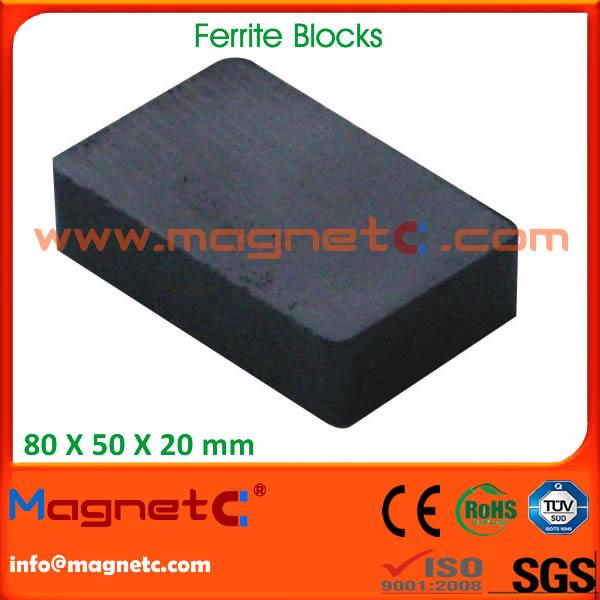 China Standard Ferrite Magnet
