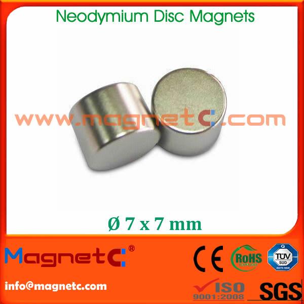 Disc N40 Neodymium Magnet