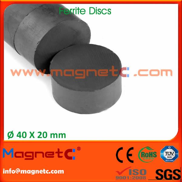 Anisotropic Disc Ferrite Magnets