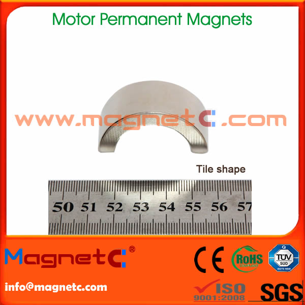 Drive Motor NdFeB Magnets