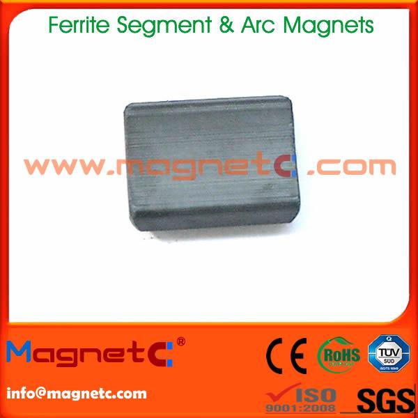 Arc / Segment Ferrite Magnet For Motor
