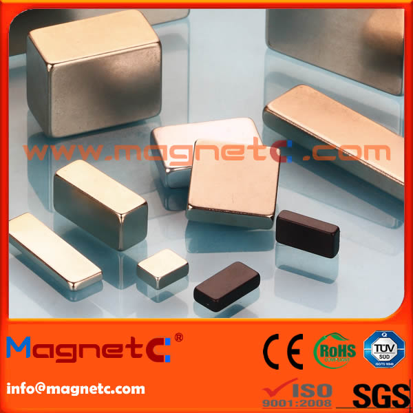 Block Bar Permanent Neodymium Magnet