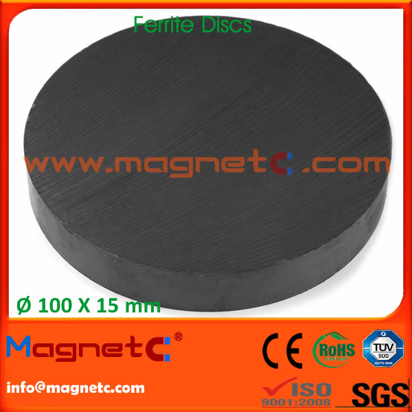 Lager Disk Round Ferrite Magnets