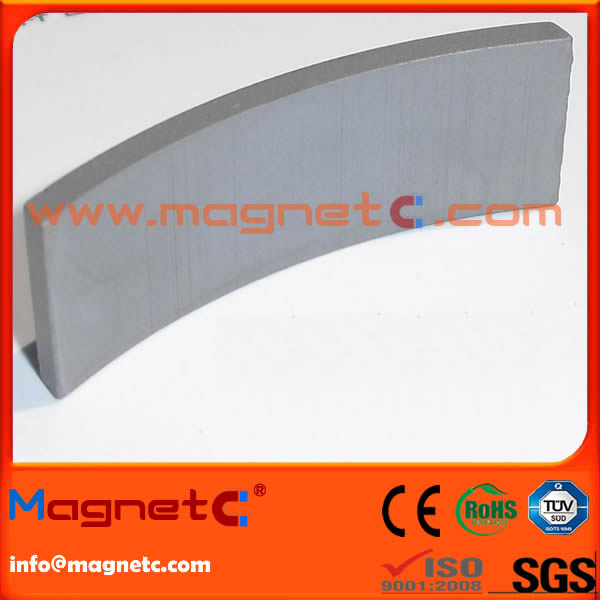 Sintered Induction Motor Arc Magnets