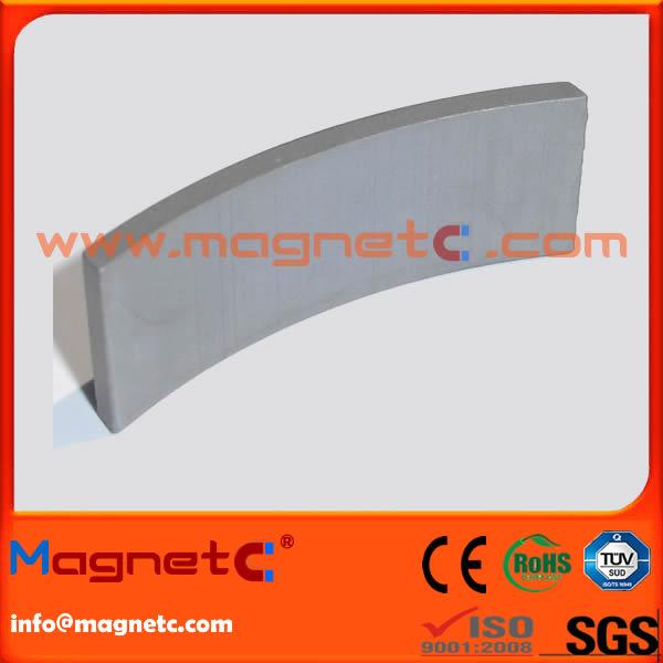 Neodymium Arc Segment Motor Generator Magnet