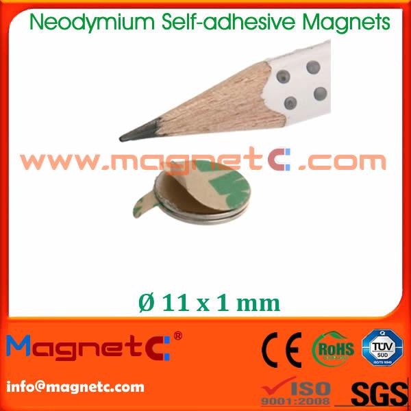 Disc Magnet Self Adhesive NdFeB