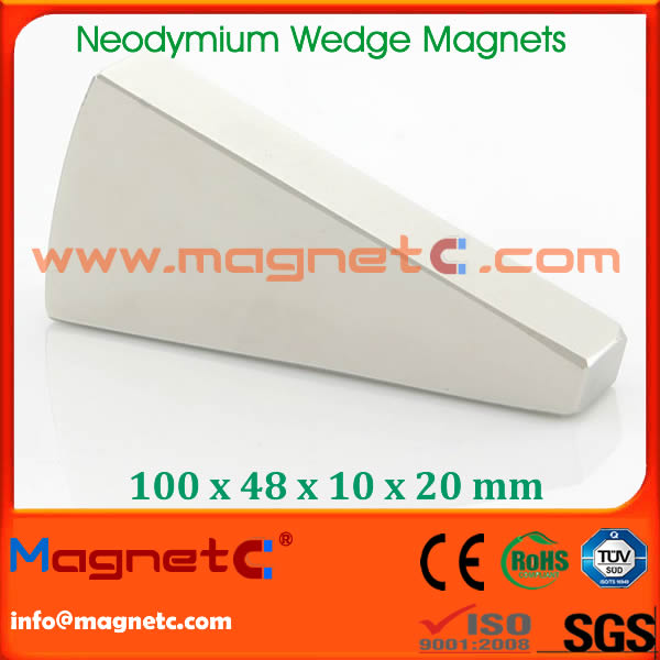 Wedge NdFeB Magnets