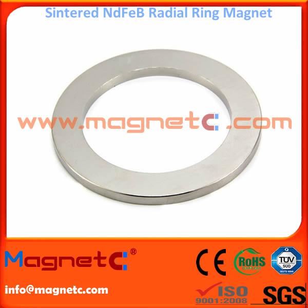 Radial Sintered NdFeB Rings