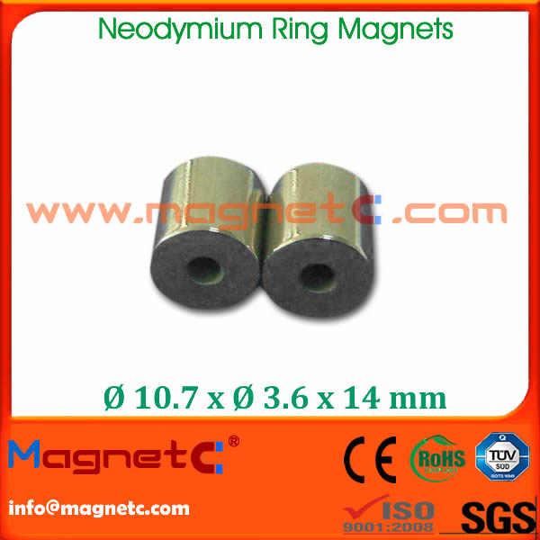 Sintered Ring NdFeB Magnet