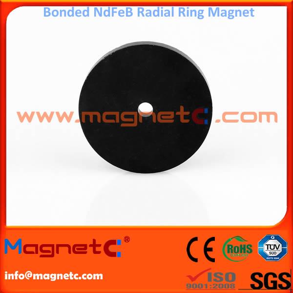Plastic Bonded NdFeB Rings