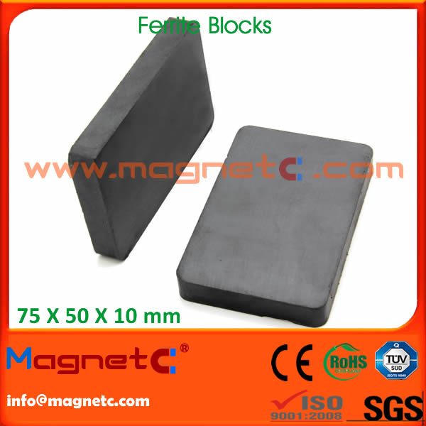 Sintered Hard Block Ferrite Magnets