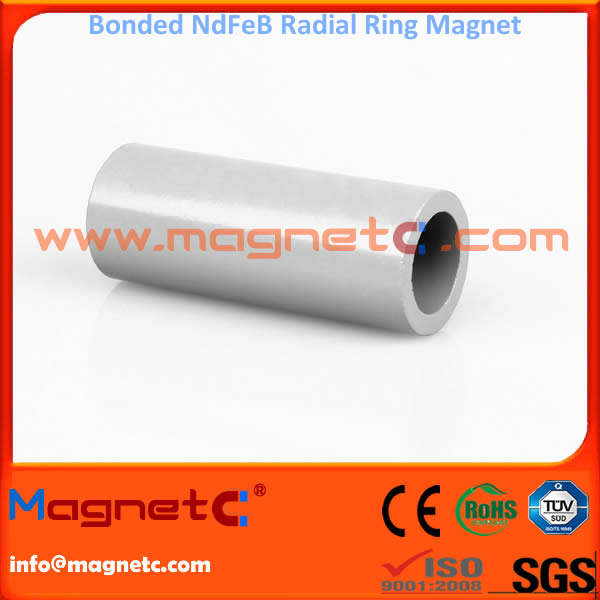 Radial Ring Magnet for Rotors Bonded NdFeB