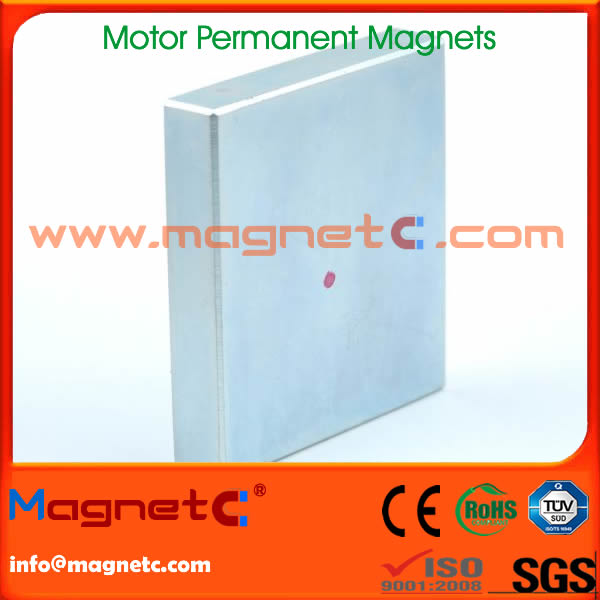 Zinc Plated Wind Turbine Magnet