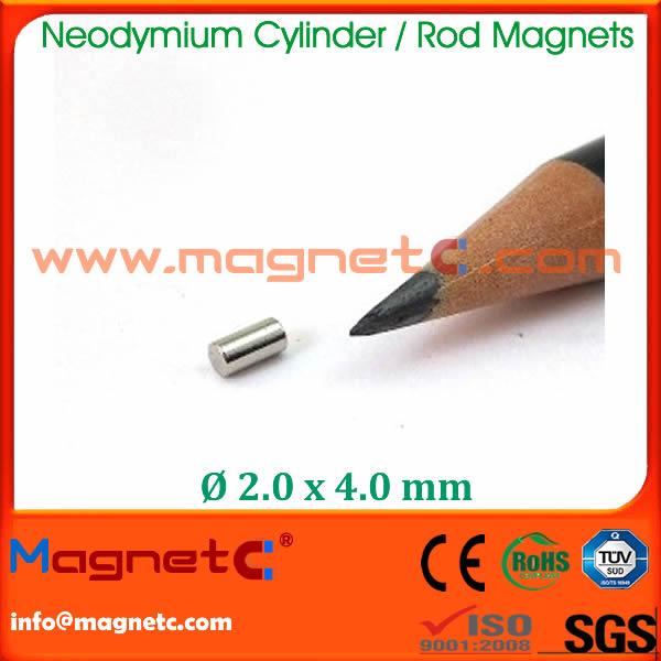 Sintered Ndfeb Rod Magnet N35