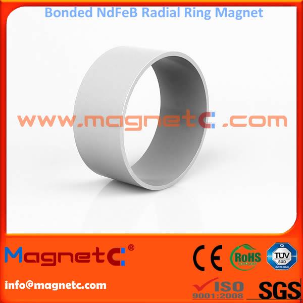 Radial Ring Bonded NdFeB Magnet for Electric Motor
