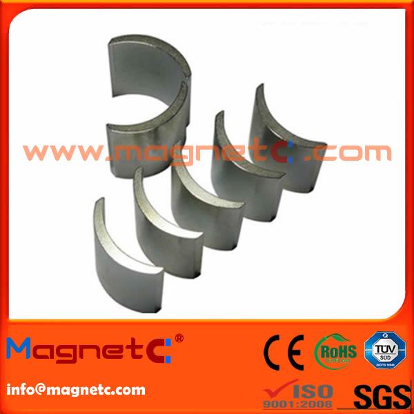 N35UH Rare Earth Arc Magnet