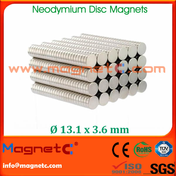 Permanent Ndfeb Round Magnet