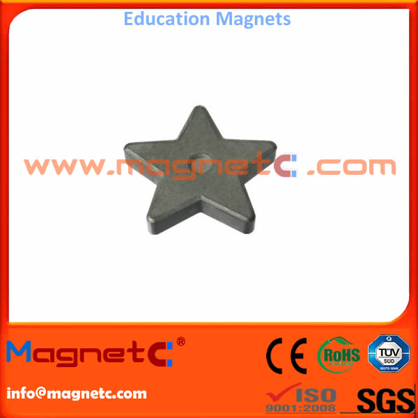 Education Magnets Five-pointed star