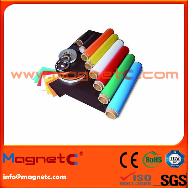 Flexible Magnetic Roll with PVC Surface