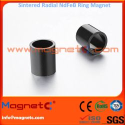 Radially Oriented Sintered Ring Magnet N45M