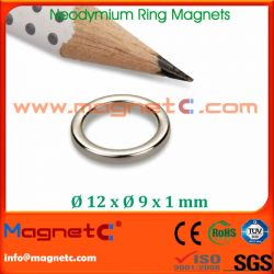 Sintered NdFeB Ring Magnet N40SH