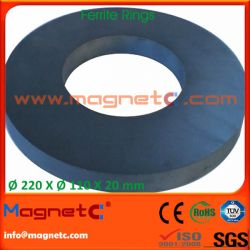 Super Large Strong Ring Ferrite Magnets