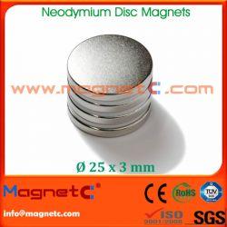 Neodymium Raw Magnets Disc
