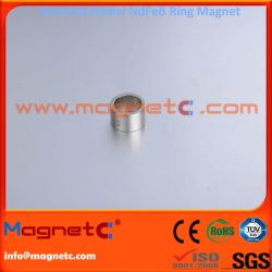 Unipole On OD and ID Sintered NdFeB Ring Magnet