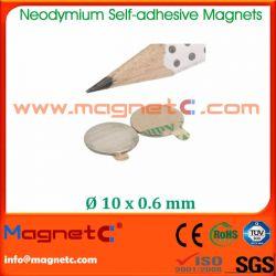 Adhesive NdFeB Magnet Round