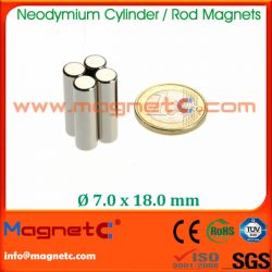 Cylinder Magnets NdFeB
