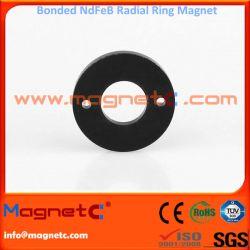 Compression Moulded NdFeB Ring Magnet