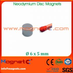 Strong NdFeB Magnet Disc Zn