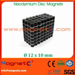 Neodymium Magnets Epoxy-Cu-Ni Disc