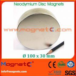N45 Nickel Plated Disc Neodymium Magnet