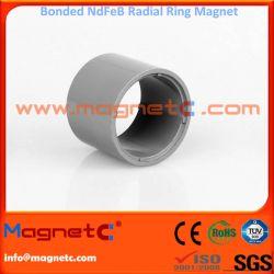 Radial Ring Magnet For High Speed Motor Bonded-NdFeB
