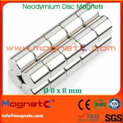 Nickel Neodymium Round Magnet