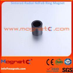 Black Epoxy Coating Radial Ring Neodymium Magnet