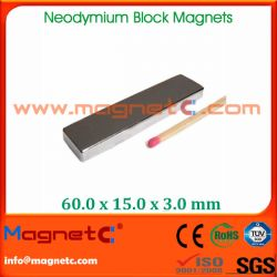 NdFeB Rare Earth Block Magnets