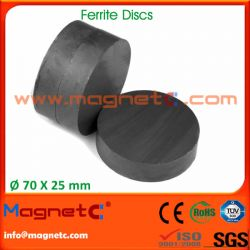 Disk Permanent Ferrite Isotropic / Anisotropic Magnets