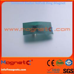 Thin Radiation Ring Magnet
