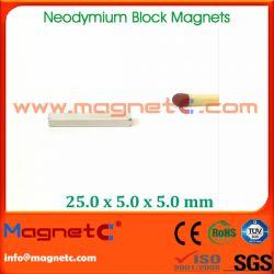 Block Neodymium Magnet N35