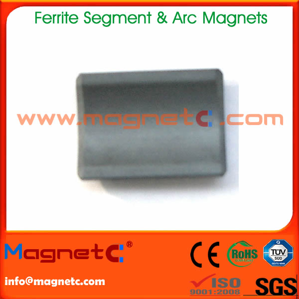 Arc Segment Ferrite Magnet For Motor