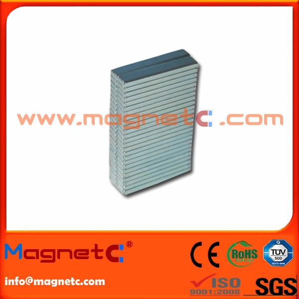 N38H Neodymium Magnet For Linear Motor